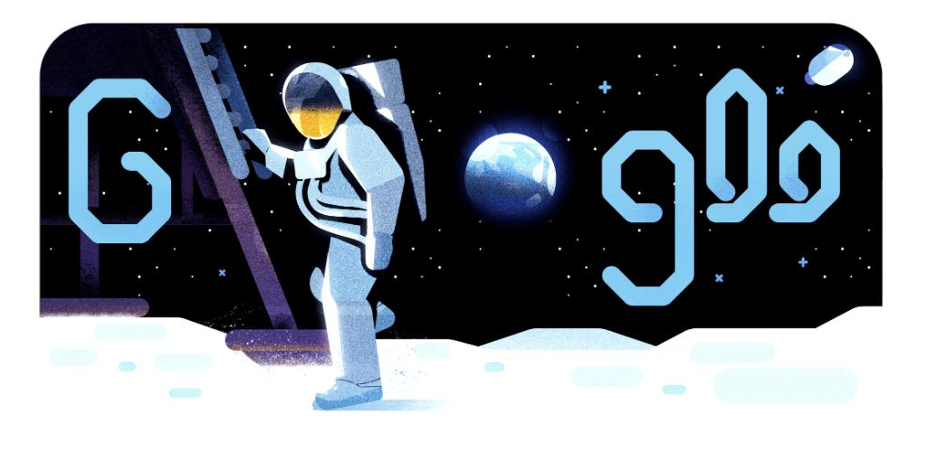 The Doodle has landed. 🌔 Relive Apollo 11's historic journey to the Moon in today's video #GoogleDoodle narrated by astronaut Michael Collins, created in collaboration with @NASA → http://goo.gle/2YYqcyg  #Apollo50th