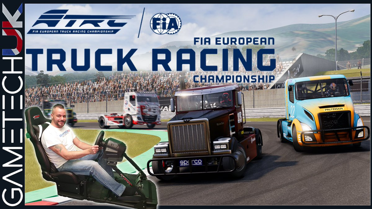 Having a look around the new FIA European truck racing game.  https://youtu.be/sih-ghJPMWA  #truckracing #fia #PS4