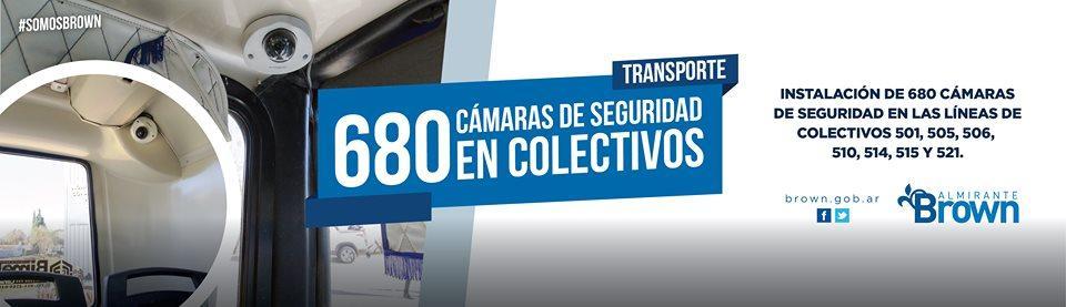 AVANZAMOS EN MATERIA DE SEGURIDAD DENTRO DE LOS COLECTIVOS INSTALANDO 680 CÁMARAS DE SEGURIDAD DENTRO DE ESTOS https://bit.ly/2YhSqqA #SomosBrown