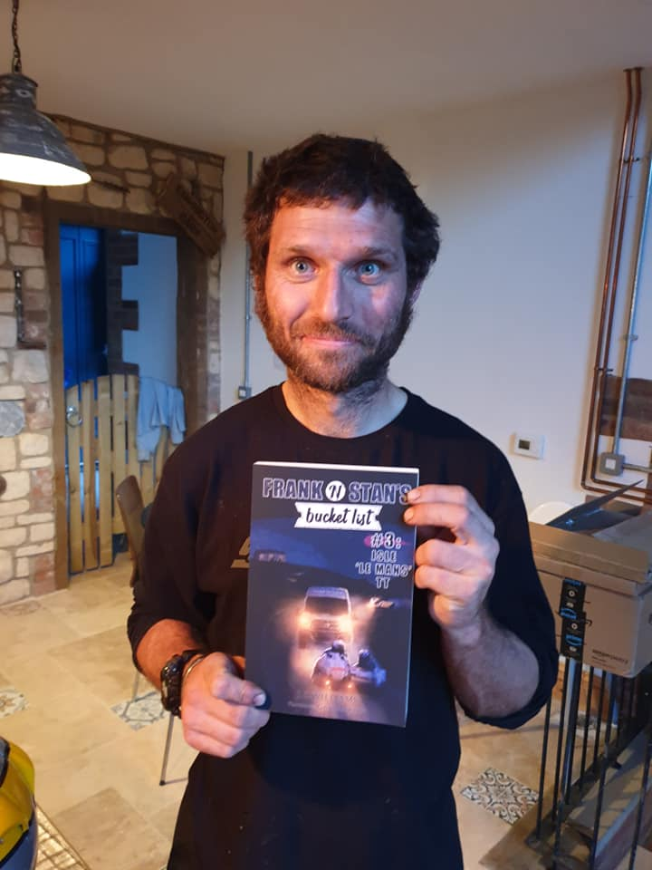 Guy Martin signed copy of my new book in which he plays a hilarious cameo, including a brief stint as a dildo.  It's a lot of fun :)    All of the details are on my facebook page, link here!   http://tiny.cc/abqy9y  #guymartin #isleofmantt #tt2020 #isleofman