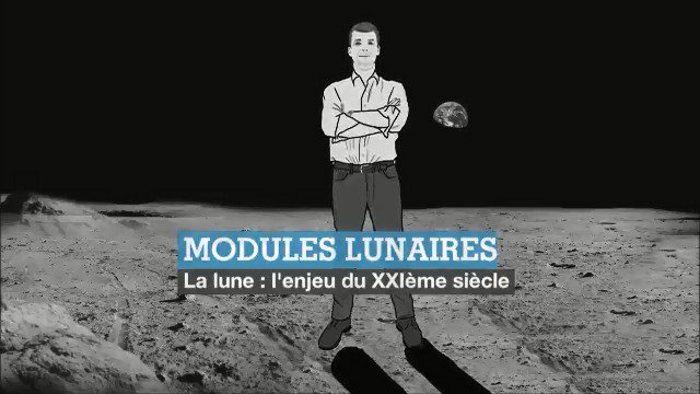 Image for the Tweet beginning: 🌕🚀 Il y a 50