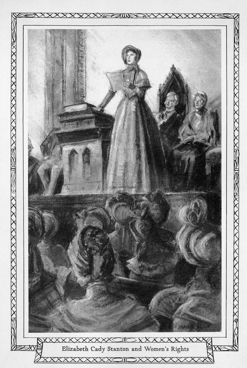 The Seneca Falls Convention was the first women's rights convention in the U.S. Held in July 1848 in Seneca Falls, New York, the meeting launched the women's suffrage movement, which more than 7 decades later which helped with women the right to vote. :https://buff.ly/2YHlrZU