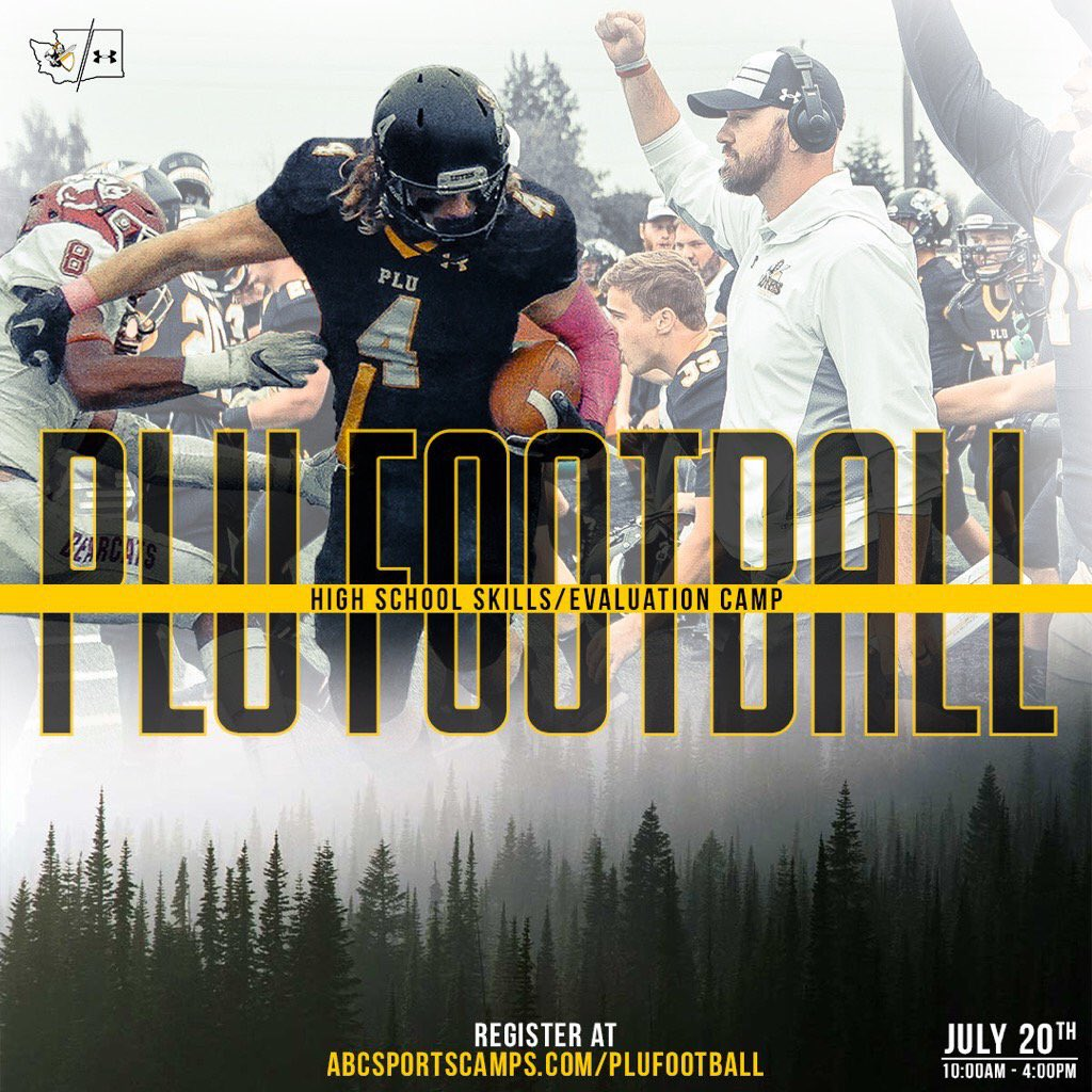 @PLUFootball is looking forward to hosting some talented H.S. football players tomorrow on our campus in #LuteVille #LoveFootball #OntheClock #BeEvaluate #RightFit #NCAAD3