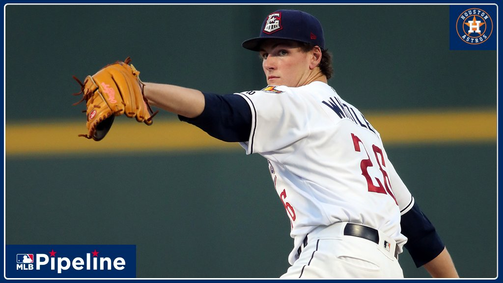 #Astros Forrest Whitley fanned 3 in the 1st in todays GCL rehab outing but walked a batter, gave up a hit and threw a wild pitch to allow a run. Whitley, #MLBs top pitching prospect entering the season, has posted a 12.46 ERA this year. Gameday: atmlb.com/2O6tJtz