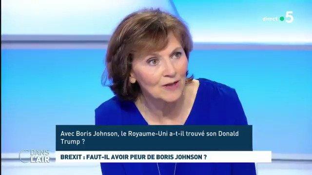 Il y a des points communs entre Boris #Johnson et Donald #Trump : le maniement du mensonge éhonté, le narcissisme, lappel aux émotions plutôt quà la raison, cette volonté de provoquer tout le temps. Mais il y a aussi des différences très profondes. @SylvieKauffmann #cdanslair