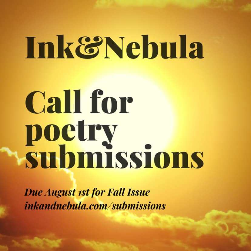 NO FEE Submission call + interview - Ink&Nebula, DEADLINE: Aug. 1, 2019  http:// trishhopkinson.com/2019/07/19/no- fee-submission-call-interview-inknebula-deadline-aug-1-2019/  … <br>http://pic.twitter.com/Pgsu4Vlkeq