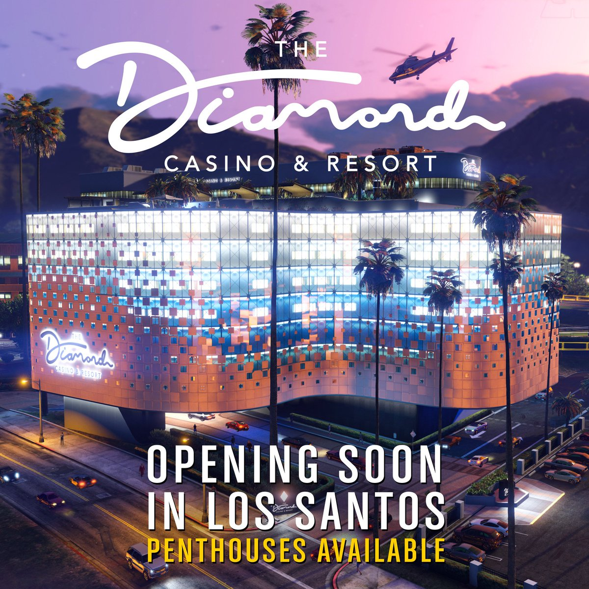 The Diamond Casino & Resort is opening soon. Experience excellence.     Explore what The Diamond has to offer at  http:// thediamondcasinoandresort.com    .<br>http://pic.twitter.com/f2vuGmlXxV