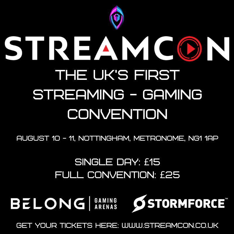 streamcon hashtag on Twitter