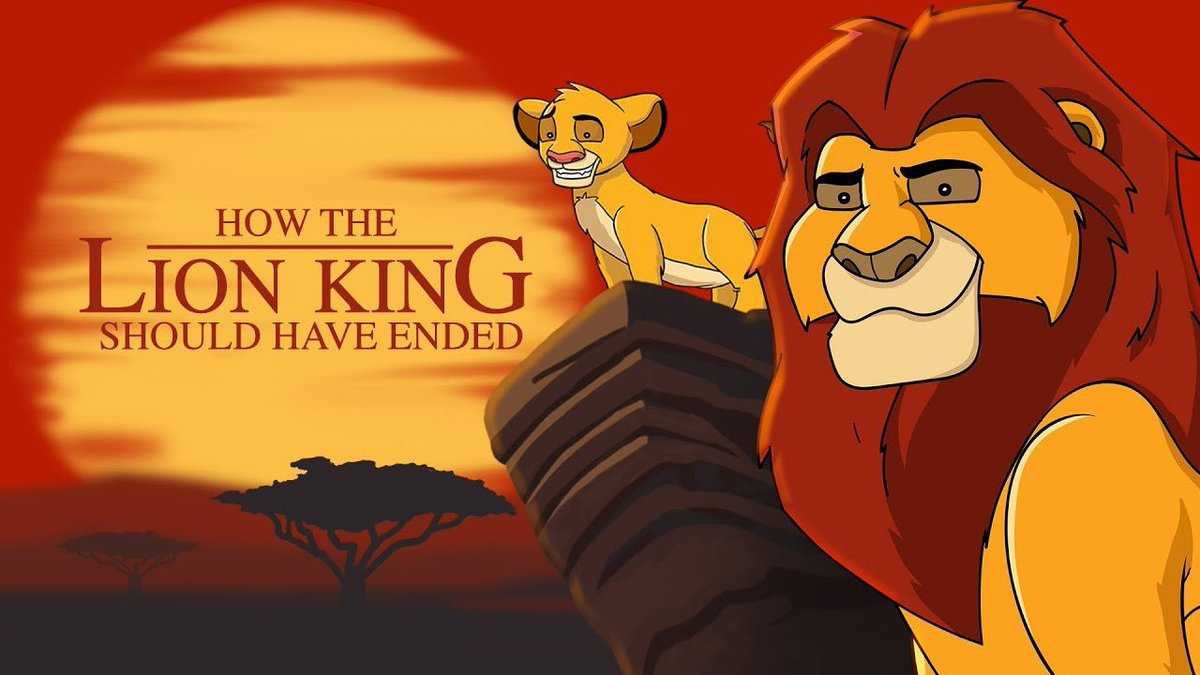 Howitshouldhaveended On Twitter How The Lion King Should