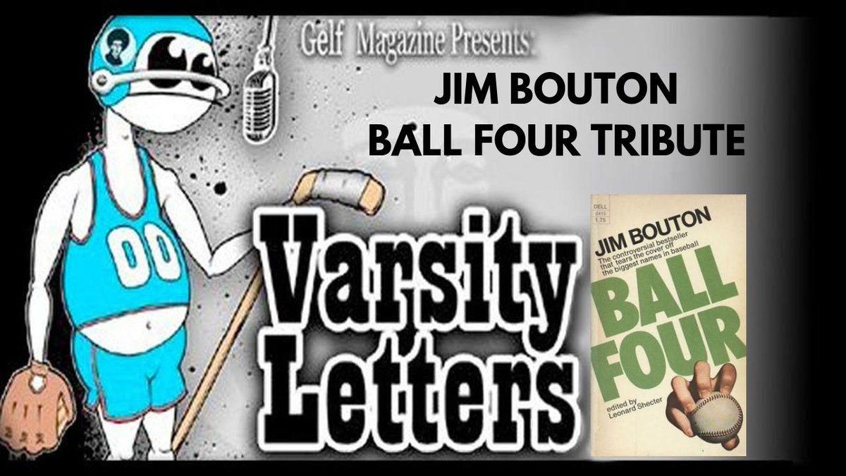 Video of my tribute to Jim Bouton and Ball Four from the @gelf Varsity Letters event in NYC. Pound a Budweiser in Joe Schultz's memory. https://t.co/sDjMwktAOQ https://t.co/bleKey04uv