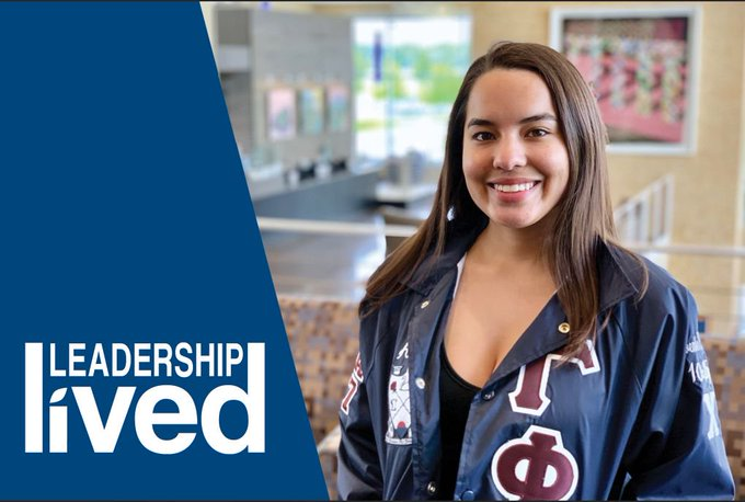 Leadership lived: #UISedu psychology major Areli Calderon wants to help people who have experienced sexual assault. On campus, she is president of Gamma Phi Omega International Sorority, Inc.  ➡️ Read More: https://t.co/80KfhOIDti ➡️ Apply to UIS: https://t.co/PcJiGo3xWP https://t.co/dgd4NwbK3G