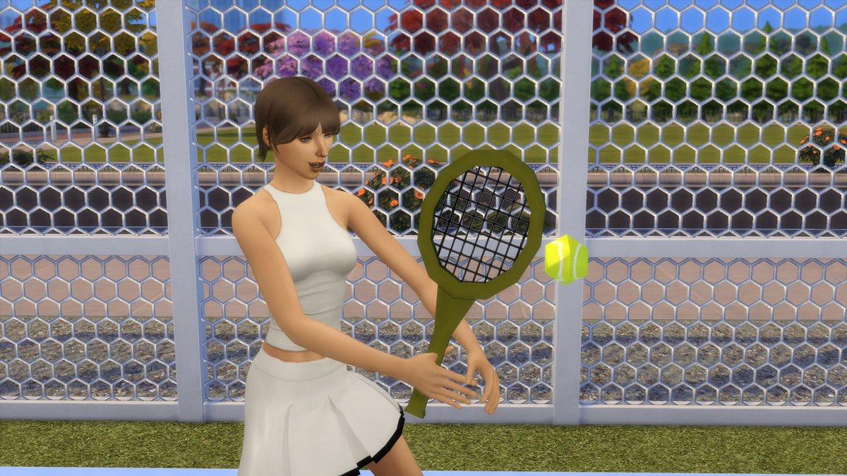 Wimbledon or Simbledon? #wimbeldon2019 #Wimbledon2019 #Sims4 #tennis my stills from a new sims 4 machinima.