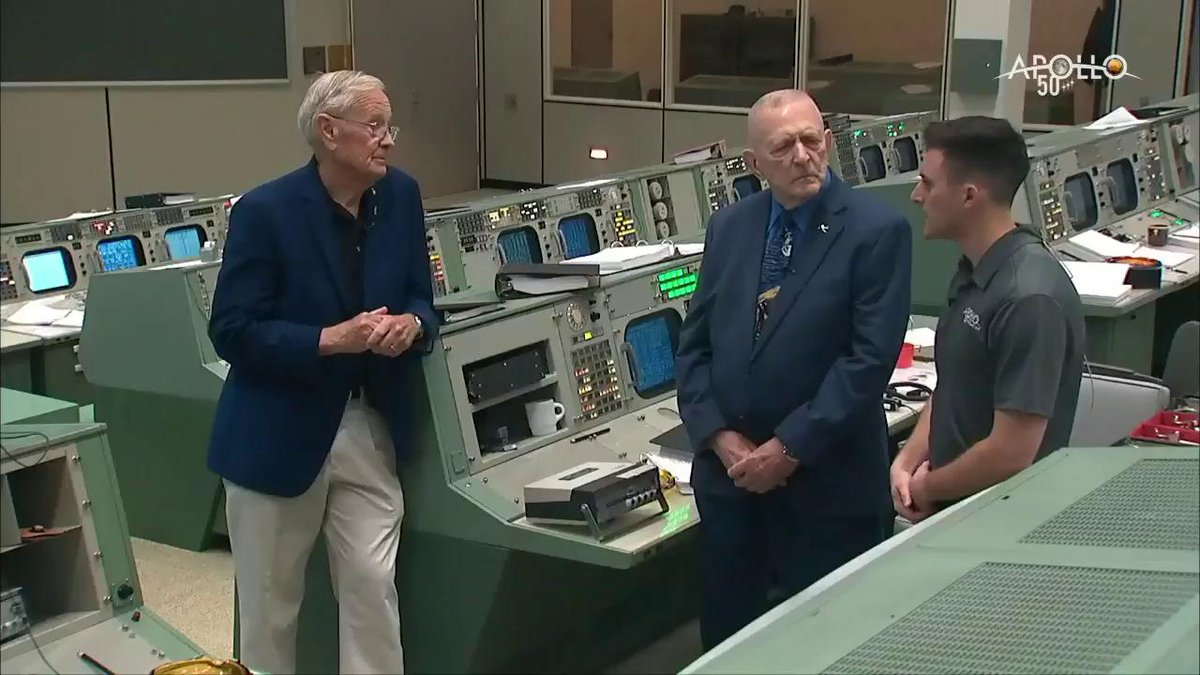LIVE NOW: Gene Kranz discusses what it was like to be in Mission Control for the historic Moon landing. Celebrate #Apollo50th and join us: twitter.com/i/broadcasts/1…