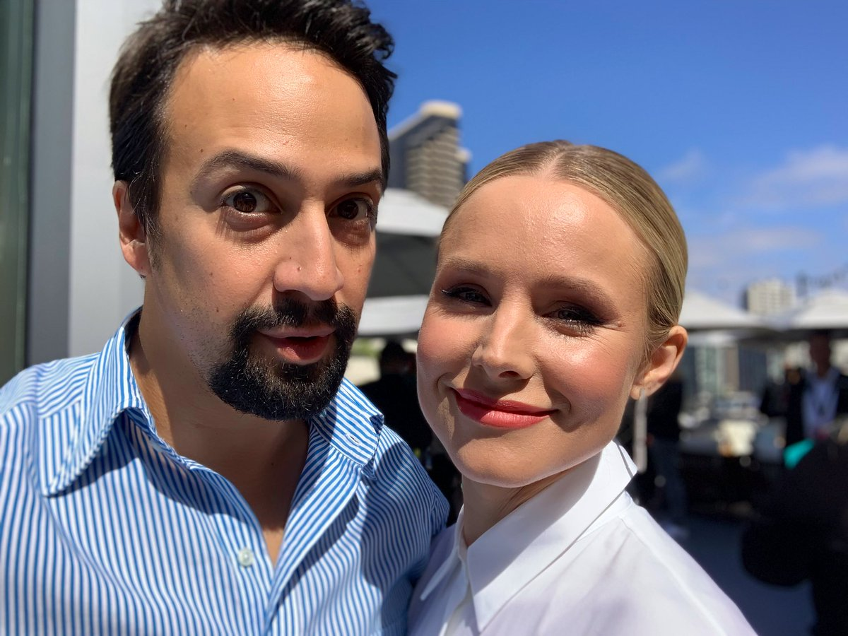 Is There Anything More Pure Than Kristen Bell Freaking Out Over Meeting Lin-Manuel Miranda?