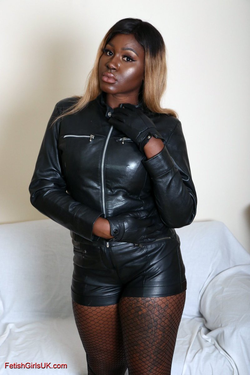 Leather ebony