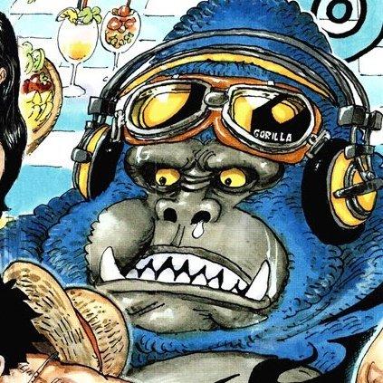 @BlacKaizoku Mdr des barres comment le gorille il était archi pas prêt à partager sa banane 😂😂😂