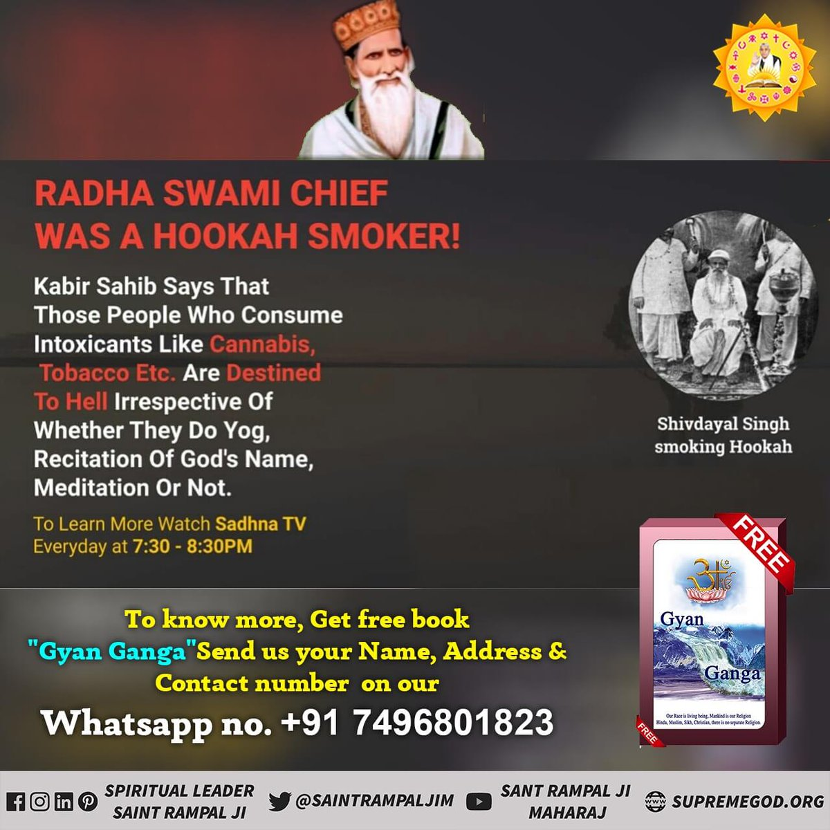 #RadhaSoami_Exposed  Radha soami disciples can not salvation by recitation of these names. <br>http://pic.twitter.com/xNedgGCR7z