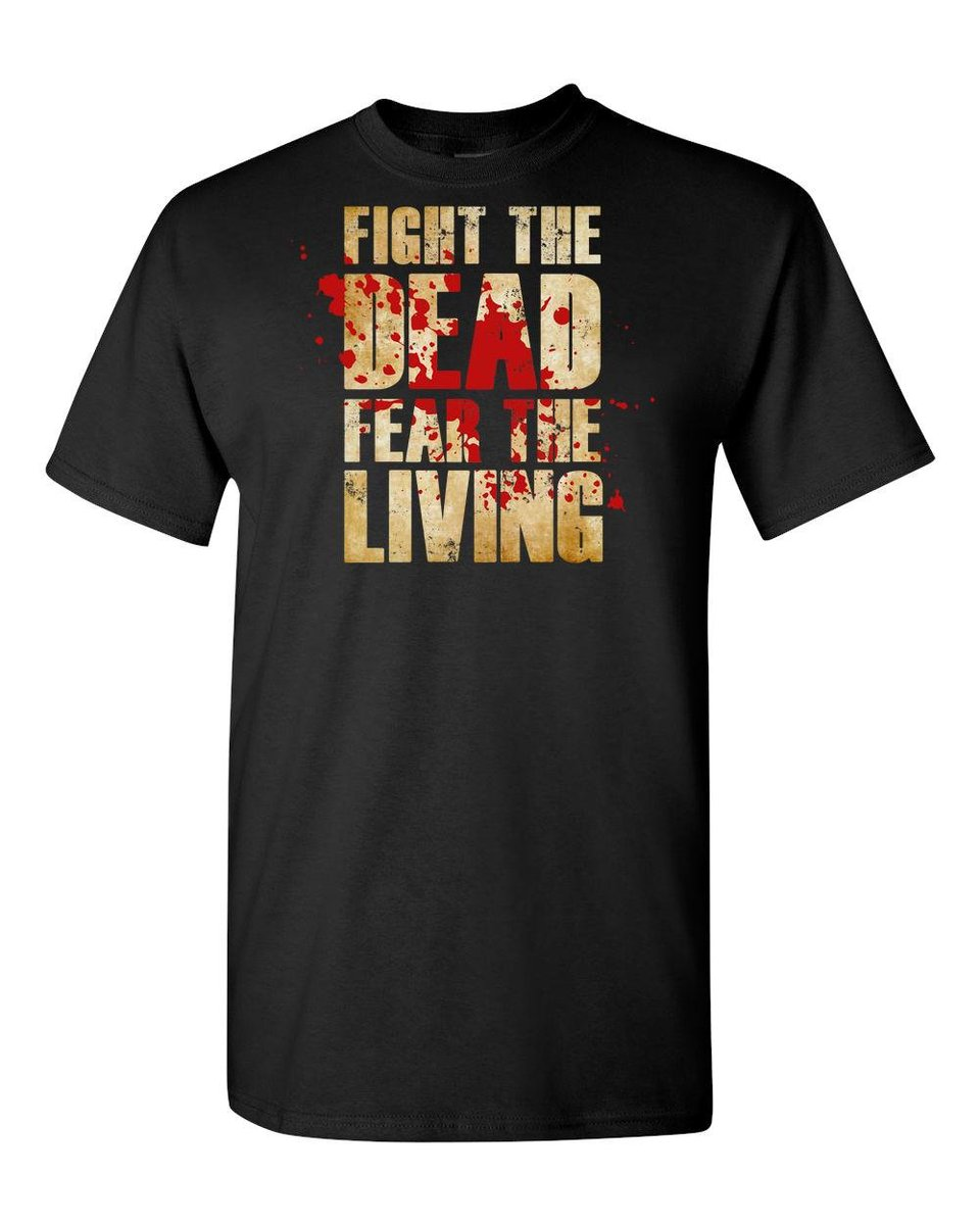 Excited to share the latest addition to my #etsy shop: Fight The Dead Fear The Living/Fun Walking Dead/Custom Adult Unisex T-Shirt https://etsy.me/2YfUMGy #clothing #shirt #walkingdead #thewalkingdead #walkingdeadshirt #walkingdeadtshirt #zombieshirt #walkingdeadgift #pic.twitter.com/R5zXEM9as0