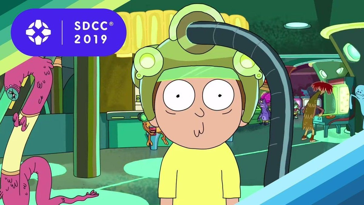 Rick and Morty's fifth season is already in development, and creators Justin Roiland and Dan Harmon claim it will arrive much faster than Season 4 did. #SDCC2019  http:// bit.ly/2xYJ3NO    <br>http://pic.twitter.com/6qCwqMLmRA