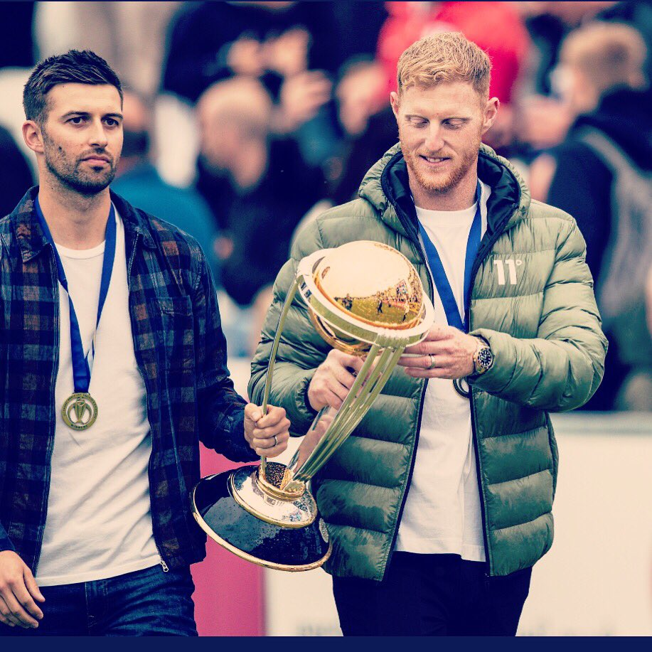 Very special day for me and @mawood33 walking round the @durhamcricket_  ground in front of the North East fans showing off this little beauty. The turn out was amazing and great to see the Durham boys win as well 🏏