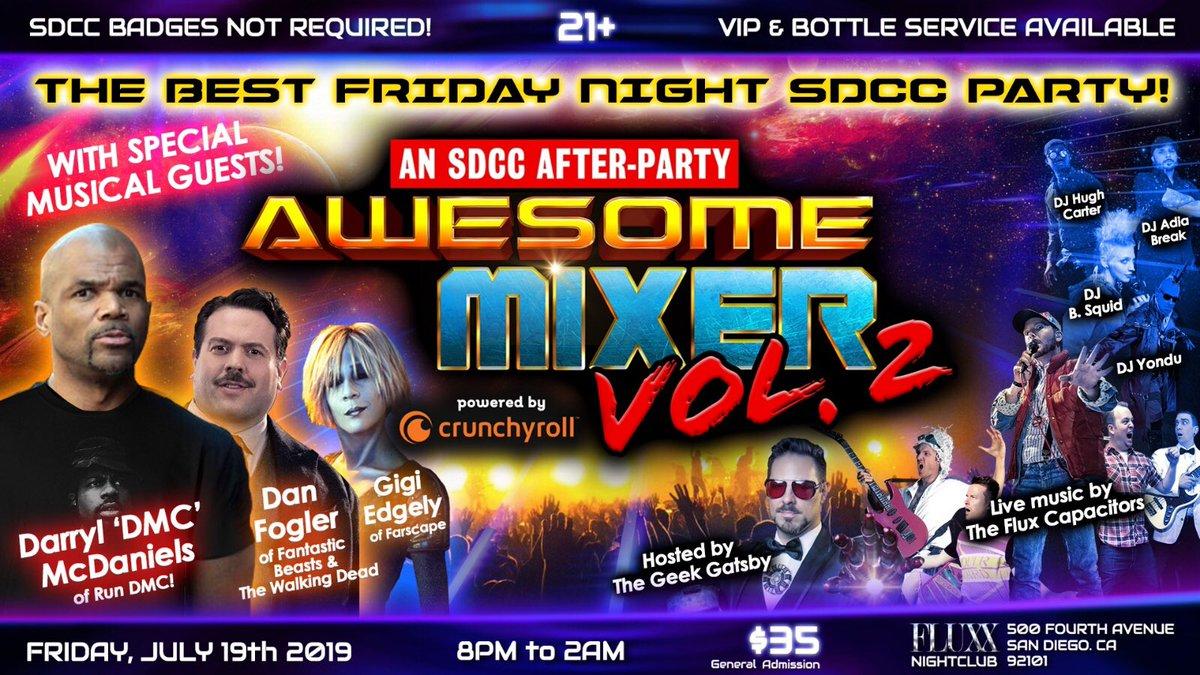 Tonight its going downnnnn@xlevelent @thegeekgatsby #awesomemixervol2