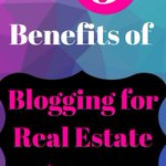 Real Estate blogging comes with plenty of benefits. If you're a real estate agen… – Dallas Picture https://t.co/u4JCPxf6ME