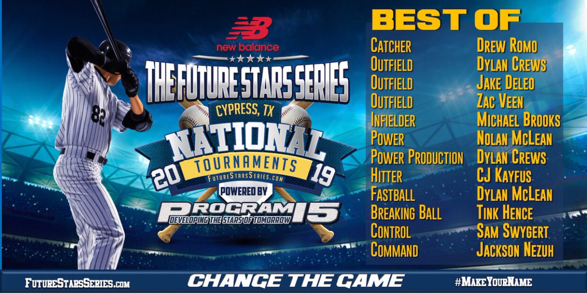 1091b2e148745 New Balance Baseball, Program 15 Baseball, Future Stars Series and Jeremy  Booth