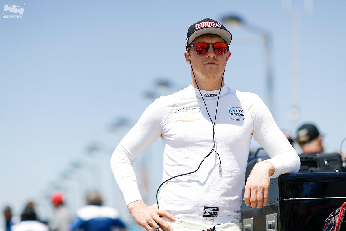 Practice 2. @NBCSportsGold. Now. 📲 INDYCAR Mobile powered by NTT DATA 📺 bit.ly/2CGIGdN 📈 racecontrol.indycar.com 📻 @AdvanceAuto @IndyCarRadio Network #Iowa300 // #INDYCAR