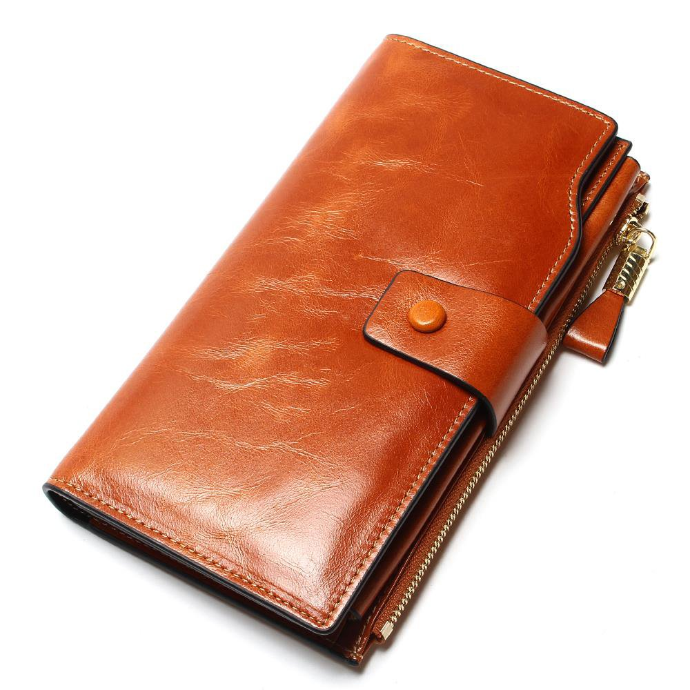 #fashion #style Genuine Leather Wallet for Women