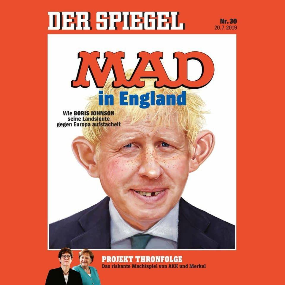 Germany's Der Spiegel magazine, pulling no punches.
