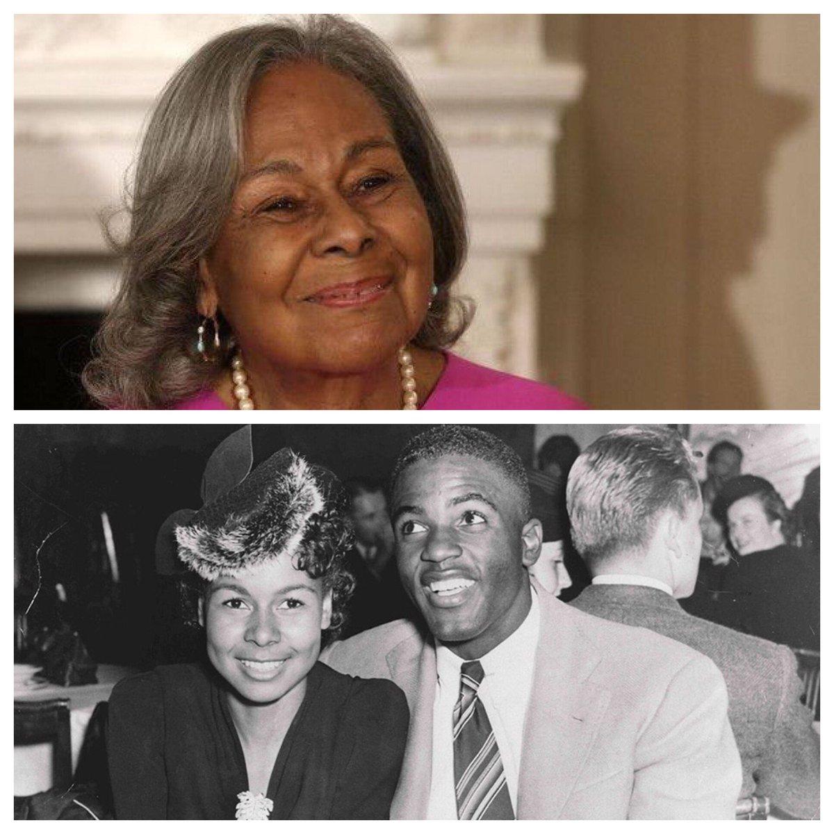 Rachel Annetta Robinson, widow of Jackie Robinson turns 97 today. Happy Birthday Mrs. Robinson, enjoy your moment! <br>http://pic.twitter.com/VJQjmBtsUw