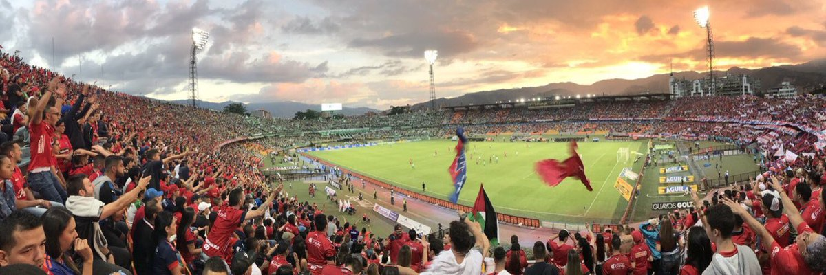 @smivadee When should I expect you for the Medellín derby?