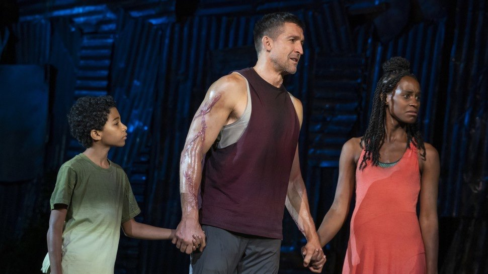 PHOTOS: A first look at the @PublicTheaterNY's Coriolanus at Shakespeare in the Park bit.ly/first-look-at-…