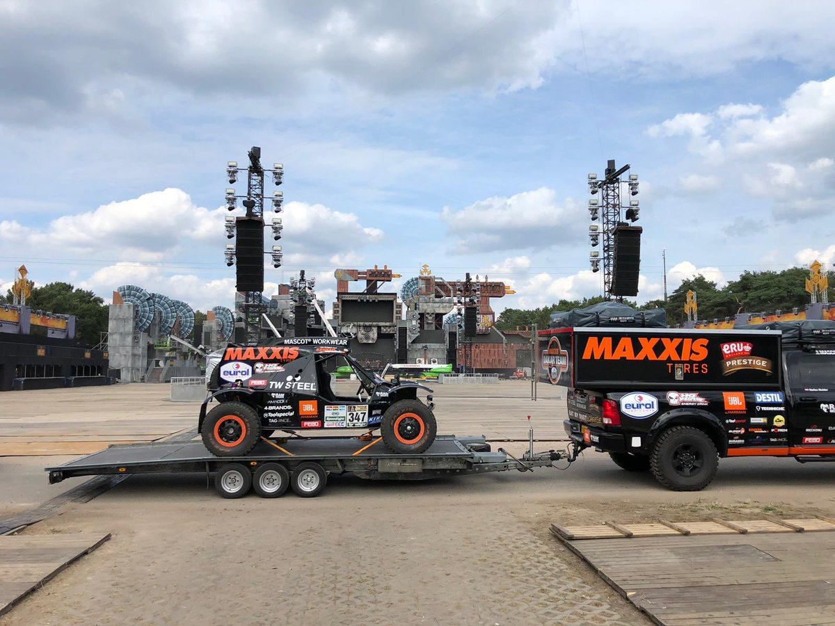 Tomorrow demo time  @DominatorFest for  We are ready  You 2?!  #Dakar2020 <br>http://pic.twitter.com/1KPBmfg5wf