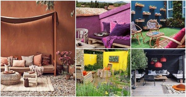 Cuáles Son Los Mejores Colores Para Pintar Patios O Terrazas
