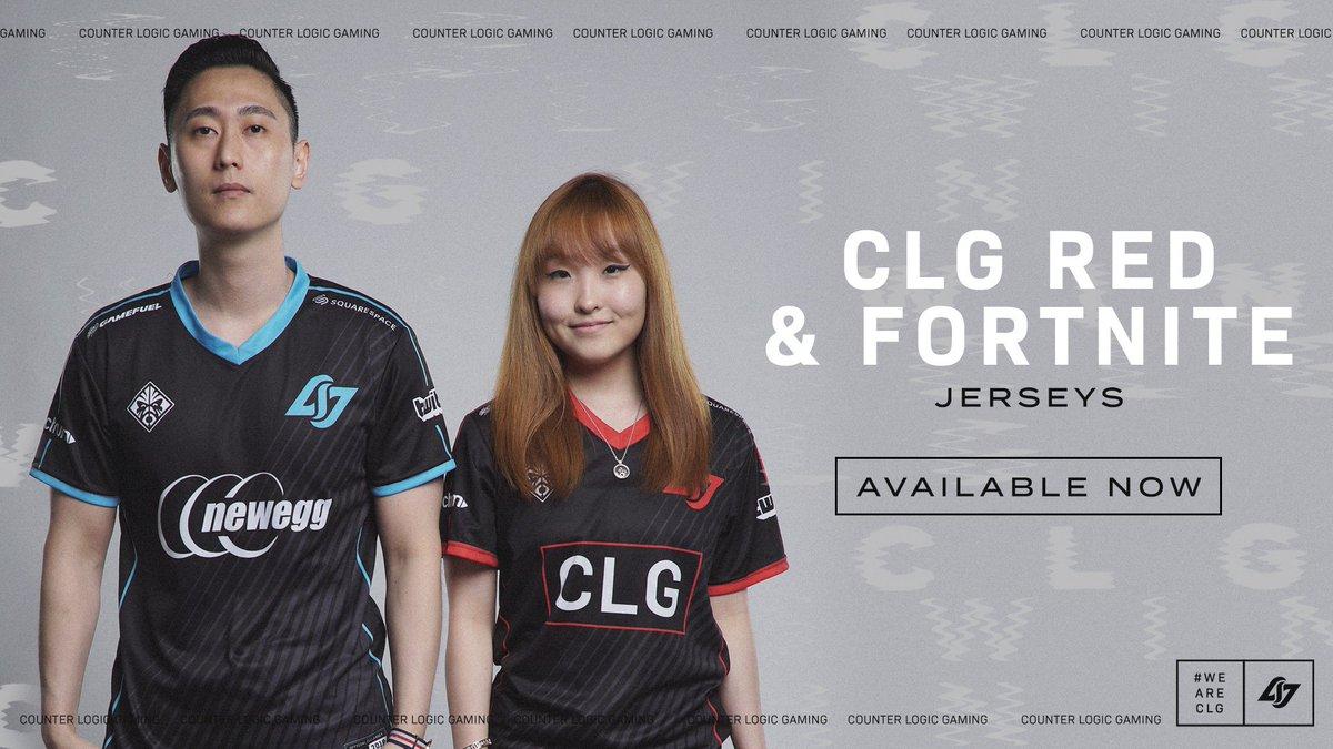 CLG RED                  CLG Fortnite                      🤝                New Jerseys  https://store.clg.gg/