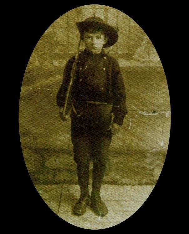 Seán Healy, the youngest casualty in the Easter Rising on the Republican side, Dublin, Ireland, 1916. <br>http://pic.twitter.com/Q8KHD8mKgE