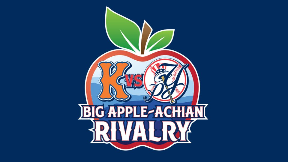 .@PulaskiYanks vs. @Kingsport_Mets = Big Apple-achian Rivalry atmilb.com/30RjaMz
