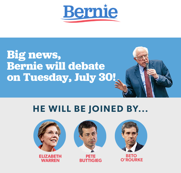 It's coming soon!! Host a debate watch party or find one that's already planned near you at  http:// map.berniesanders.com      It's going to be fun!!! #Bernie2020 #FeelTheBern <br>http://pic.twitter.com/z7FXApfkly