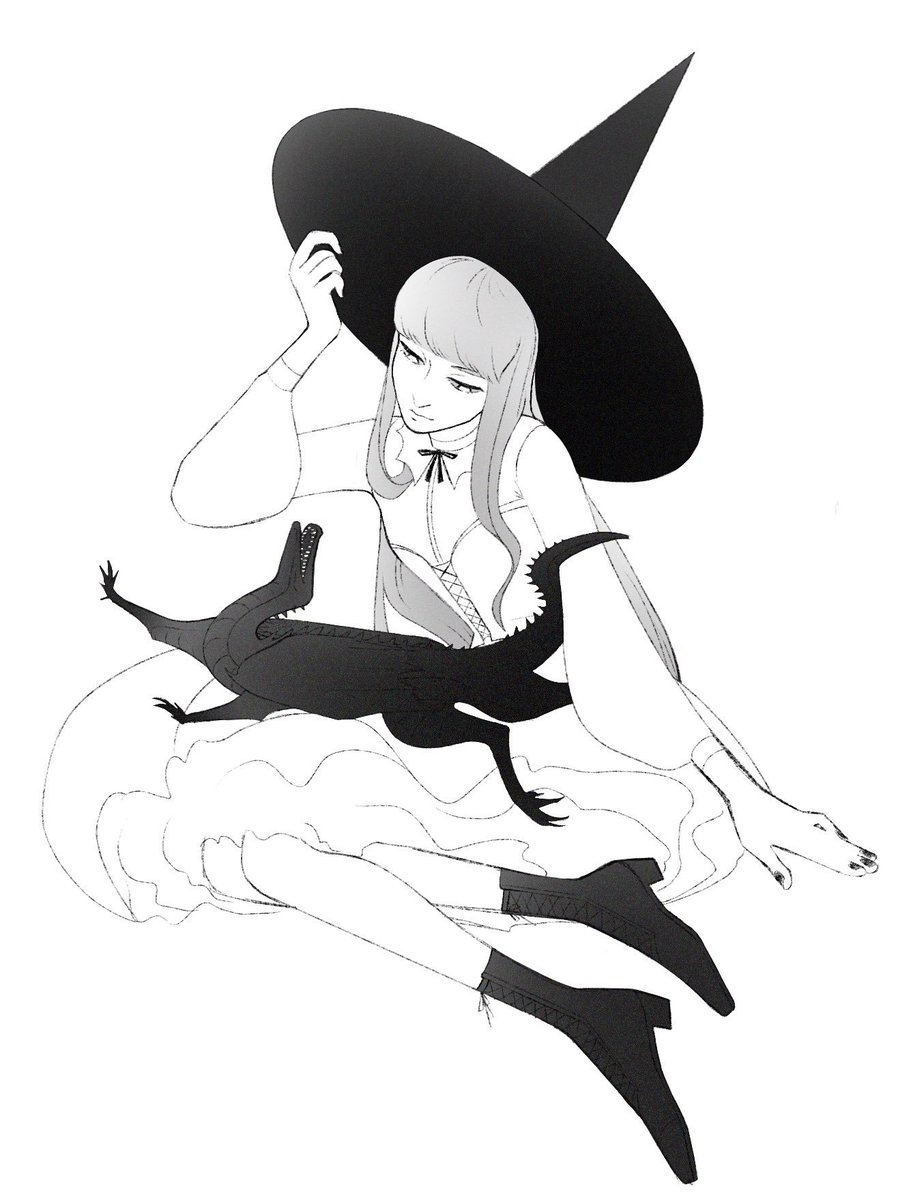 A witch & her dragon  <br>http://pic.twitter.com/prUsiRCdhB