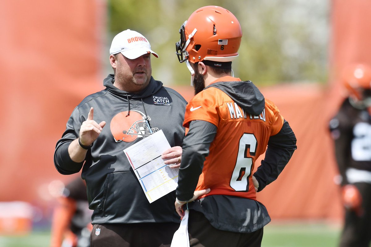 .@minakimes tells @BullandFox Baker Mayfields experience will bode well for future adversity, no question #Browns best team in the division bit.ly/2Z4d7DQ