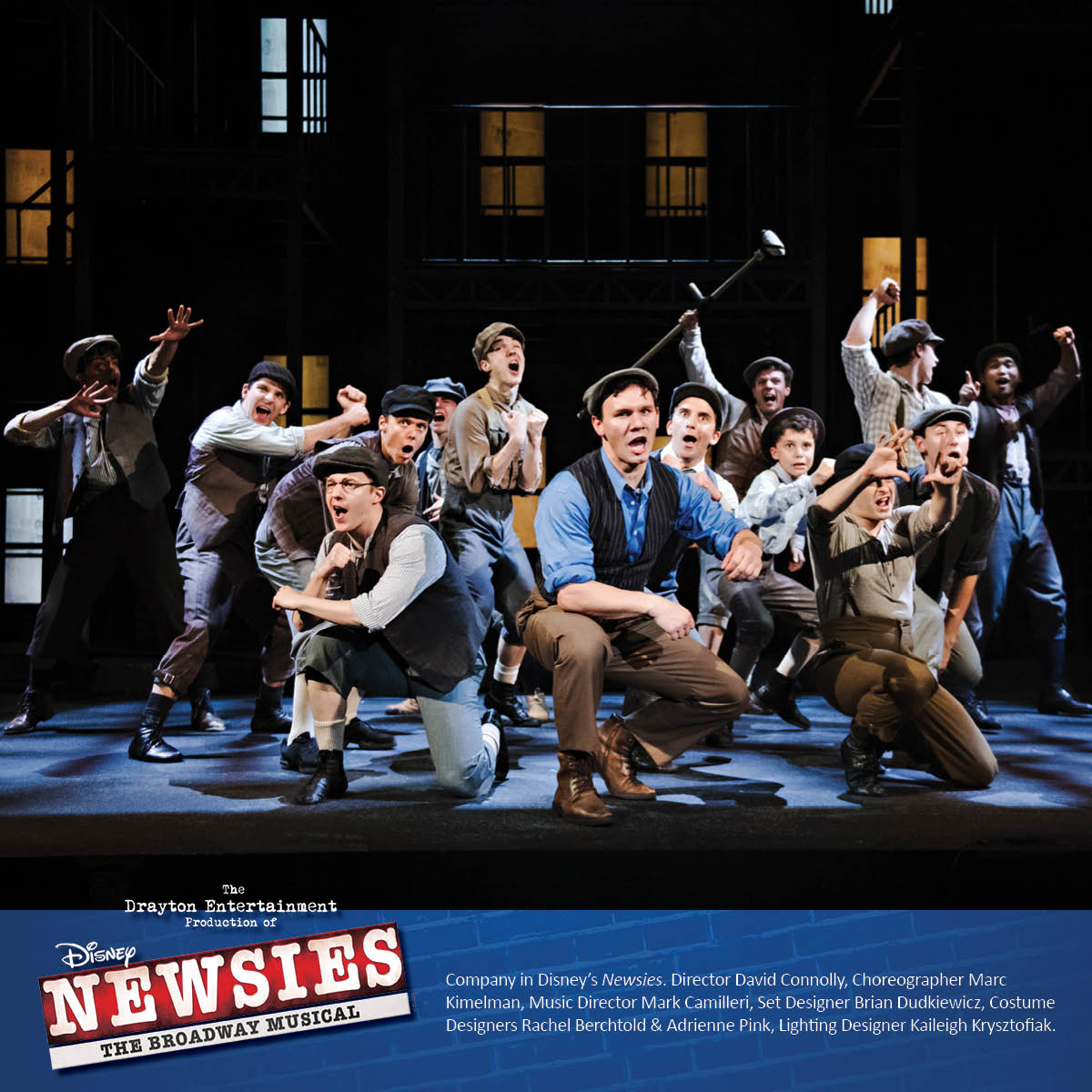 The kings of New York are carrying the banner as Disney's #Newsies opens tonight at the St. Jacobs Country Playhouse!   Tickets are almost 80% SOLD OUT so #seizetheday and get them before they are gone!  http:// ow.ly/z5Il50v6aZd       #onceandforall #stjacobscountryplayhouse <br>http://pic.twitter.com/jIoQvKYV6u
