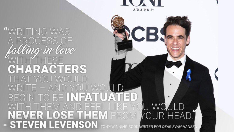 The secret to @DearEvanHansen Tony Winner and @FosseVerdonFX Emmy nominee @Steven_Levenson's success? Agility: bit.ly/the-secret-to-…