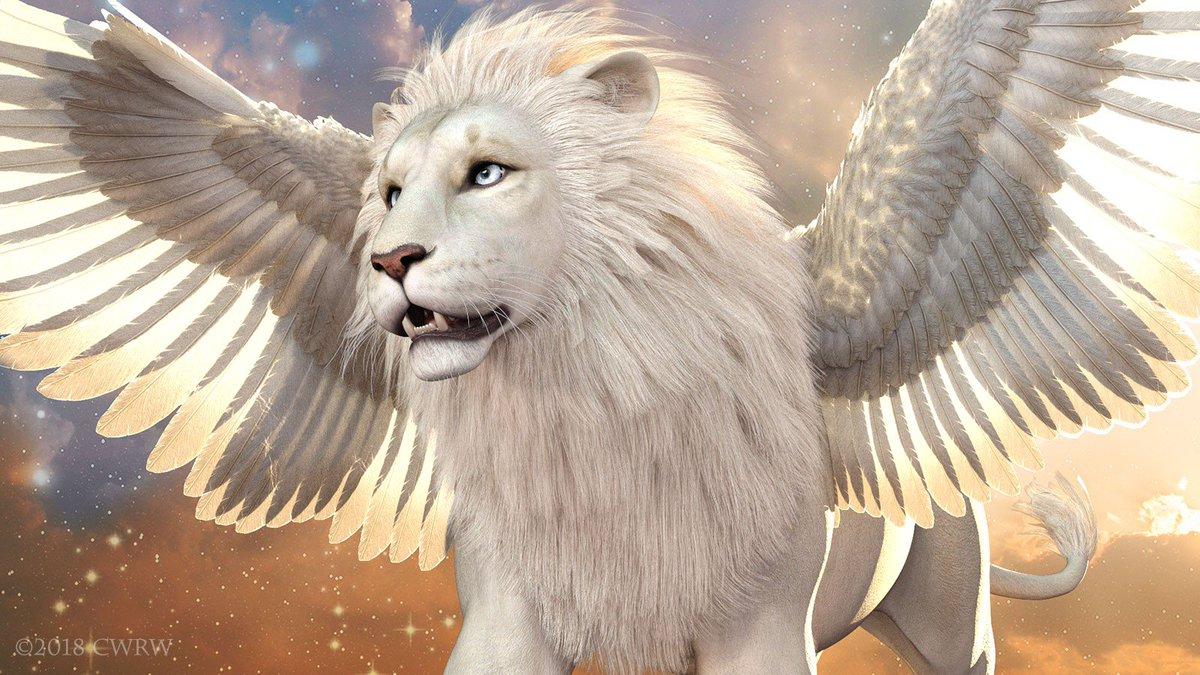 для картинки львов с крыльями тех, кто