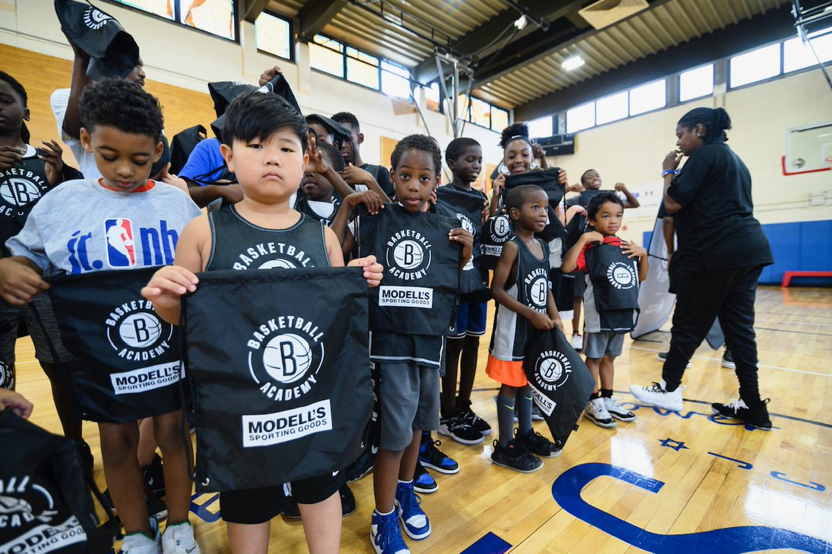 Check out today's action from Brooklyn Nets Basketball Academy Camp featuring an appearance by Albert King. Special thank you to @Modells for the swag! ⬇️