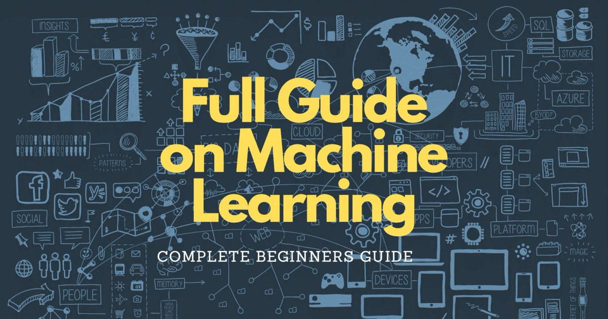 test Twitter Media - Machine Learning — Complete Guide for Beginners: https://t.co/s9WV29wjmu  —————— #BigData #DataScience #AI #MachineLearning #DeepLearning #NeuralNetworks #Algorithms https://t.co/AsgyJEellZ