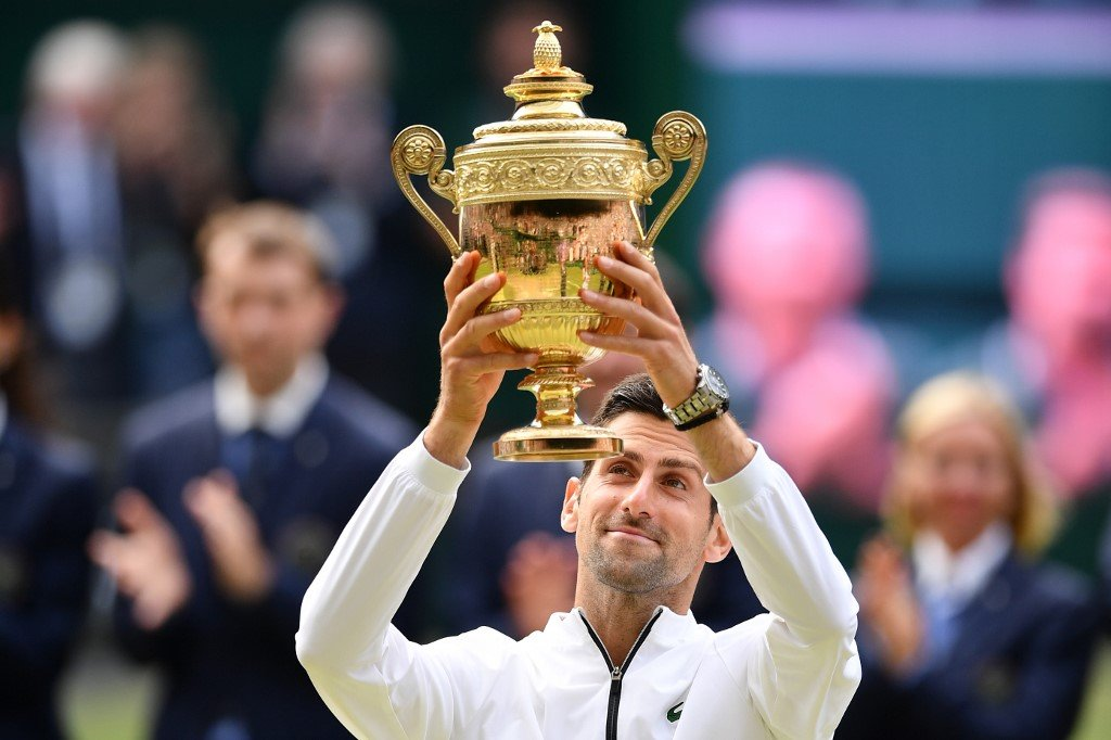 Finally got to catchup on the mens #Wimbledon2019 final absolutely amazing game!! Well deserved Djokovic. He still has the nicest legs in the world number 2 being Andy Murray. 💗👊