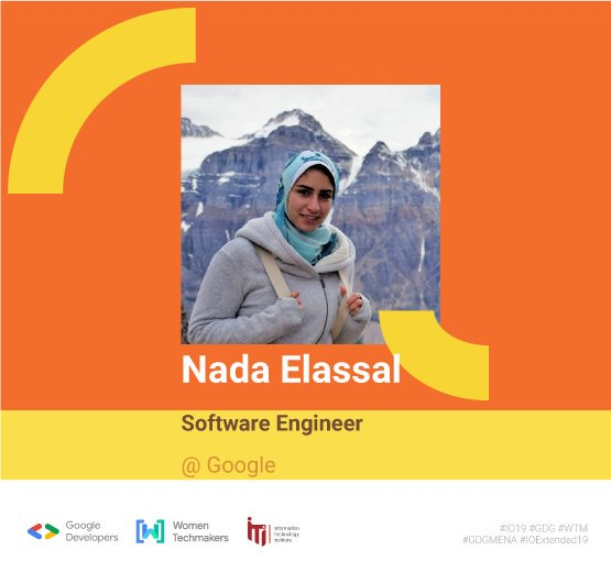 We are thrilled to introduce Nada Elassal 🙌 one of the young tech women who had the chance to be a Google InternNada will help you know how to crave your career path till you get the chance to be an intern or an employee in one of the global companies🎉#io19 #io19extendedCairo