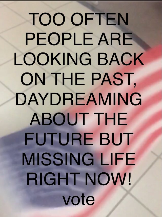#InsteadOfDissingTrump you better get out there and live life. Some get so wrapped up in political issues that they grow old bitter, disgusted and alone & some even kill themselves over politics! The USA has survived 43 men in office before Trump and will go on after him! VOTE <br>http://pic.twitter.com/6MAMgLh4Aq
