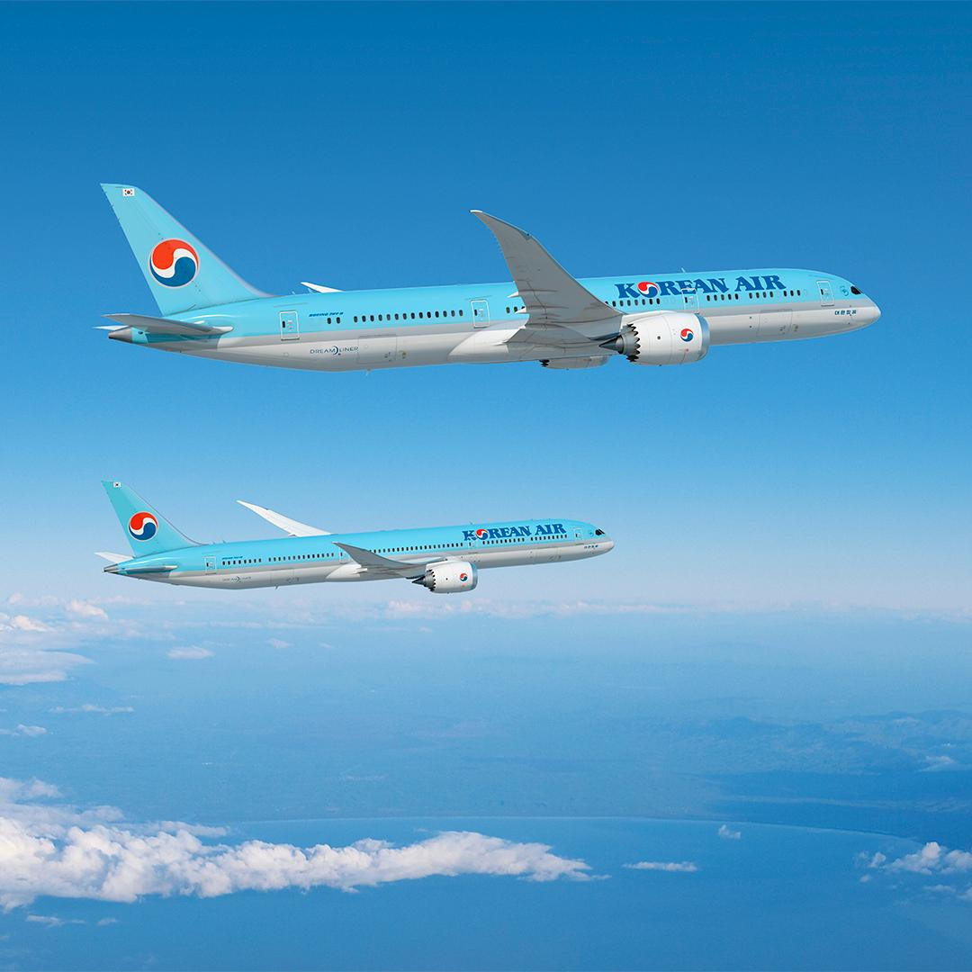 Thank you @KoreanAir_KE for finalizing an order for 20 787 Dreamliner airplanes. Korean Air will be the first to introduce the 787-10 #Dreamliner in Korea, adding greater efficiency and passenger comfort. RELEASE: http://bit.ly/2LwAAKO